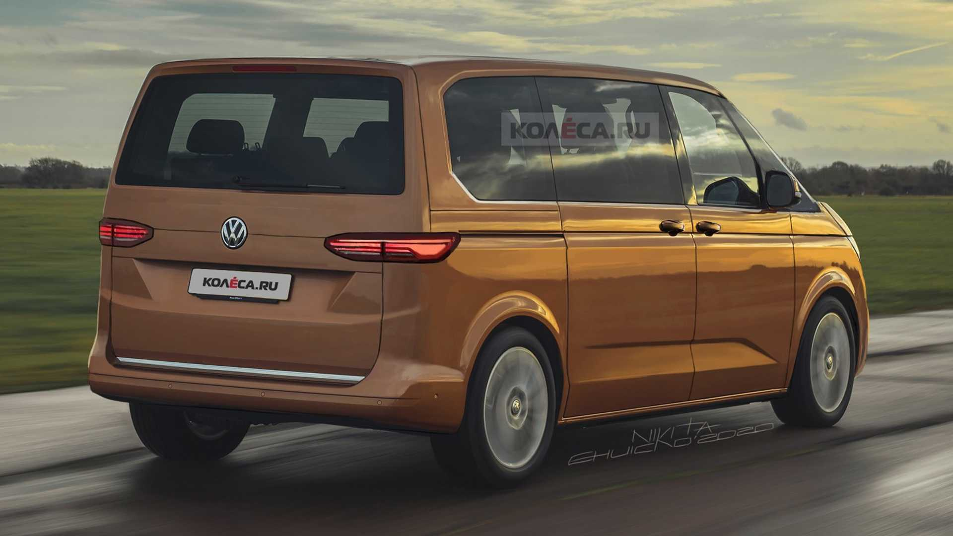 2021 Volkswagen Transporter Interior
