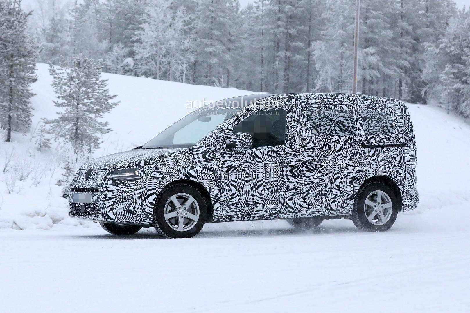 2021 VW Caddy Is Bringing MQB Hybrid Tech, Has Audi RS6 ...