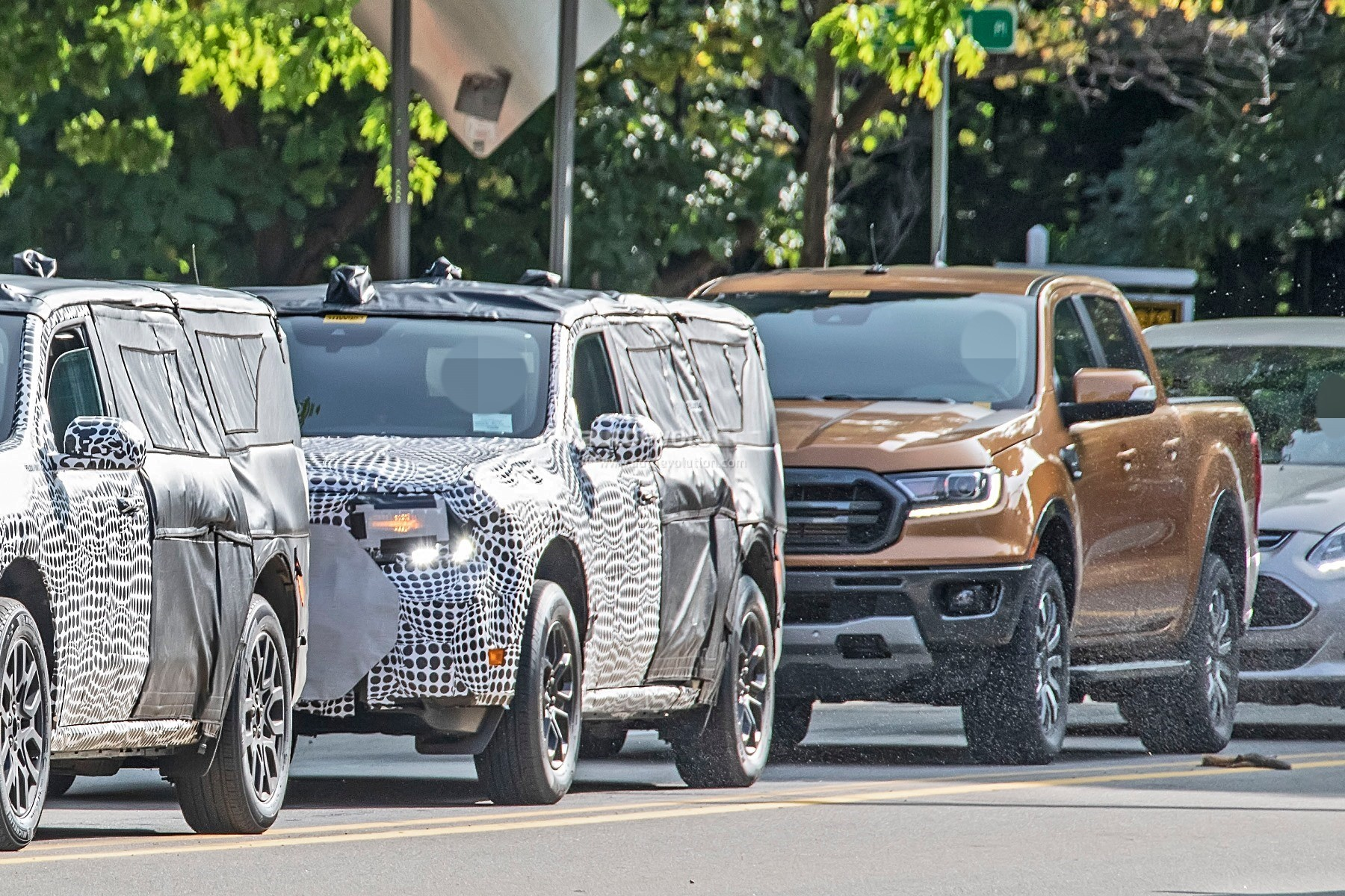 2022 Ford Maverick Pickup Truck Spied Testing With Bigger ...