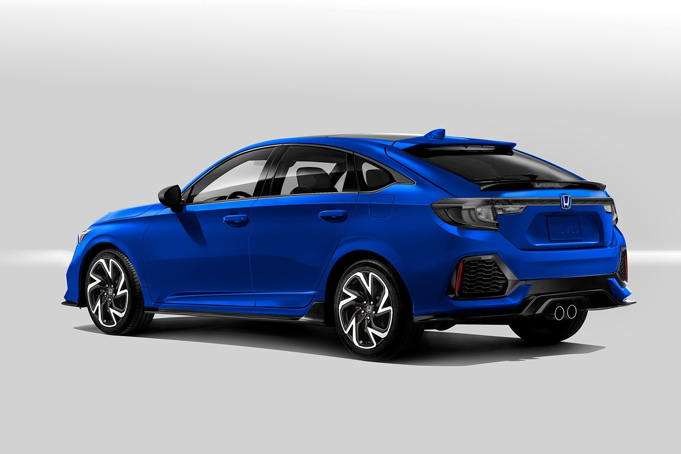 2022 Honda Civic Hatchback Looks Softer, More Grown Up in ...