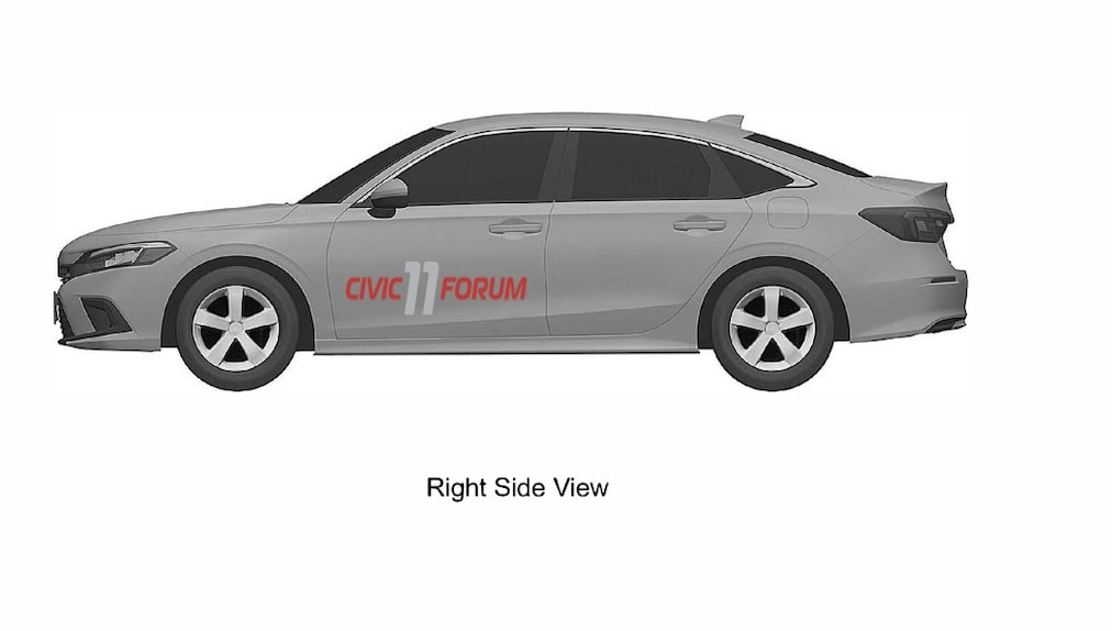 Honda Civic 11th Generation Design Leaked - Check Pictures Here