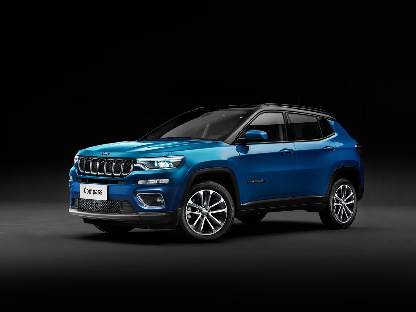 Jeep Grand Wagoneer >> 2022 Jeep Compass Rendered, Grand Compass Three-Row SUV ...