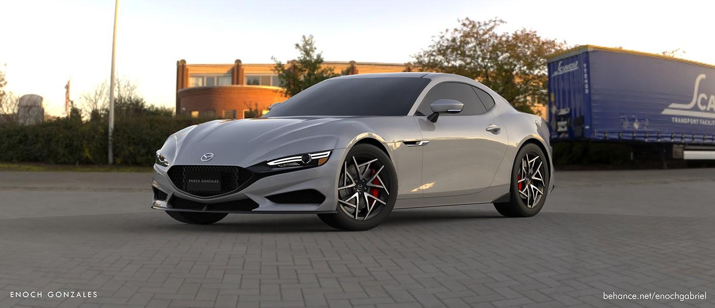 2022 Mazda Rx 7 Rendering Looks Pretty Skyactiv R Rotary