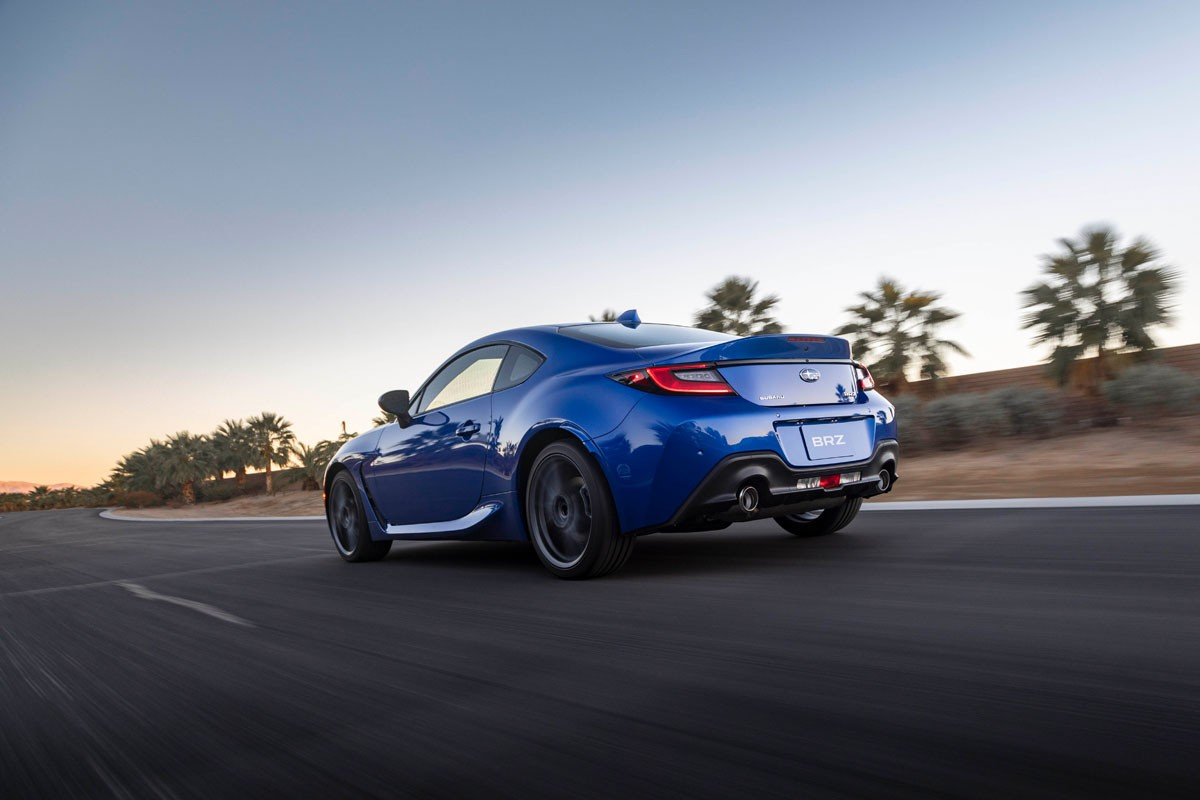 2022 subaru brz launches with 228 hp, lightest rwd 2+2