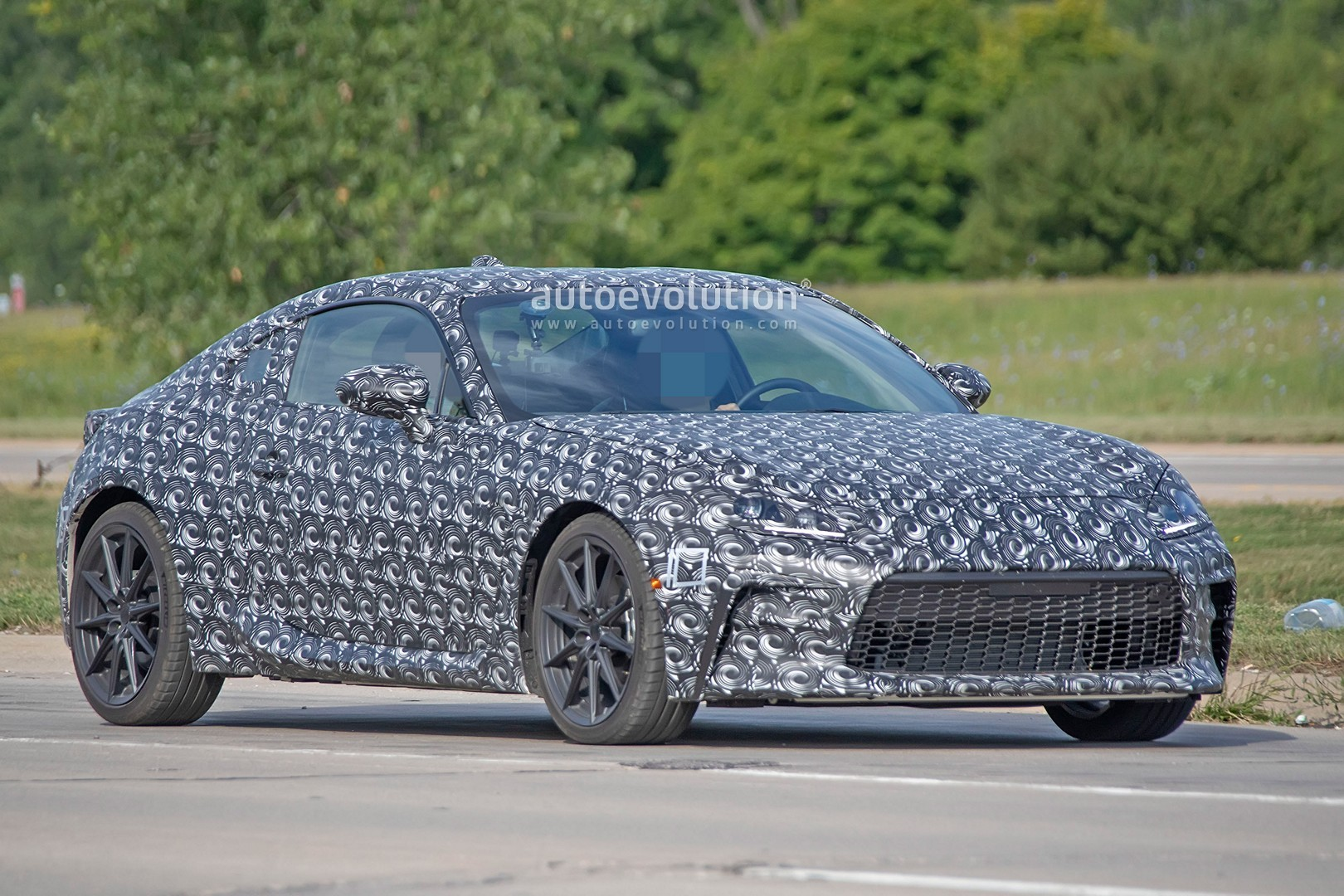 2022 Subaru BRZ Spotted for the First Time, New 2.4-Liter ...