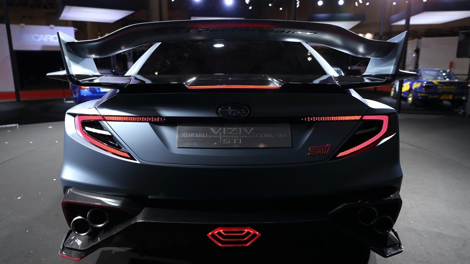 2022 Subaru WRX STI Rendered With Levorg Front Fascia