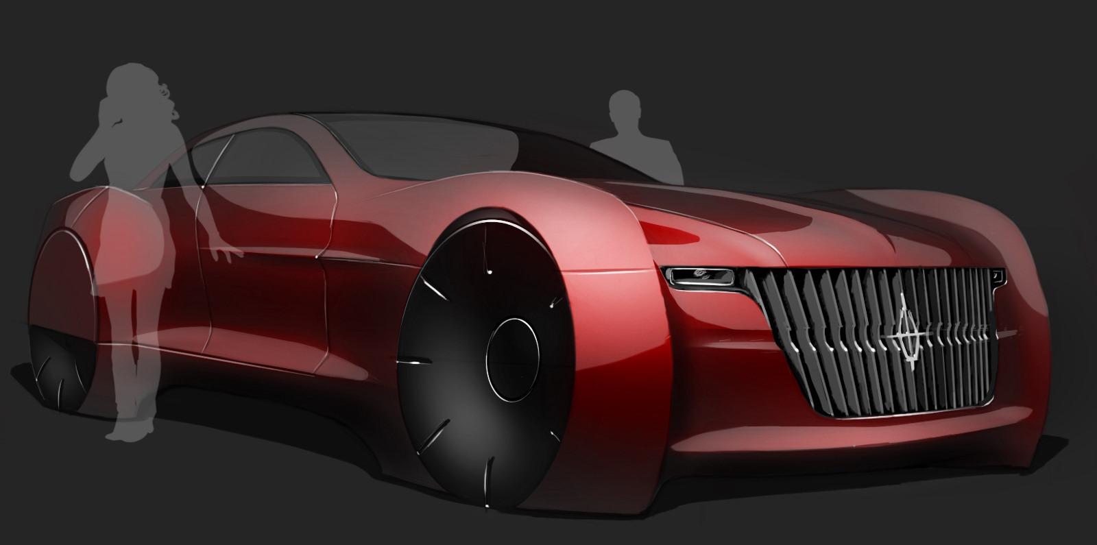 2025 Lincoln Continental Concept Autoevolution