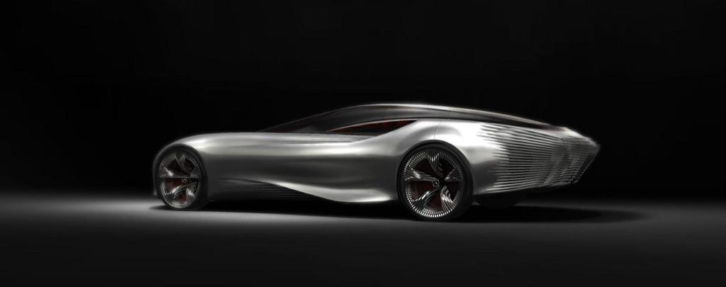 2030 Electric Mercedes Benz Aria Swanwing Design Study