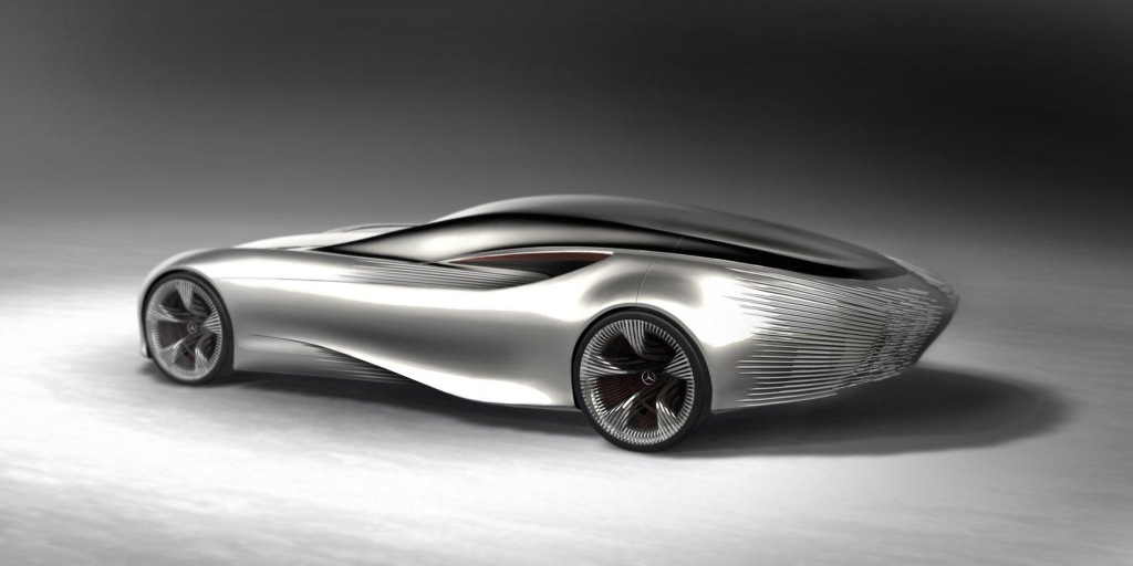2030 electric mercedes benz aria swanwing design study presented autoevolution - Sports Cars 2030