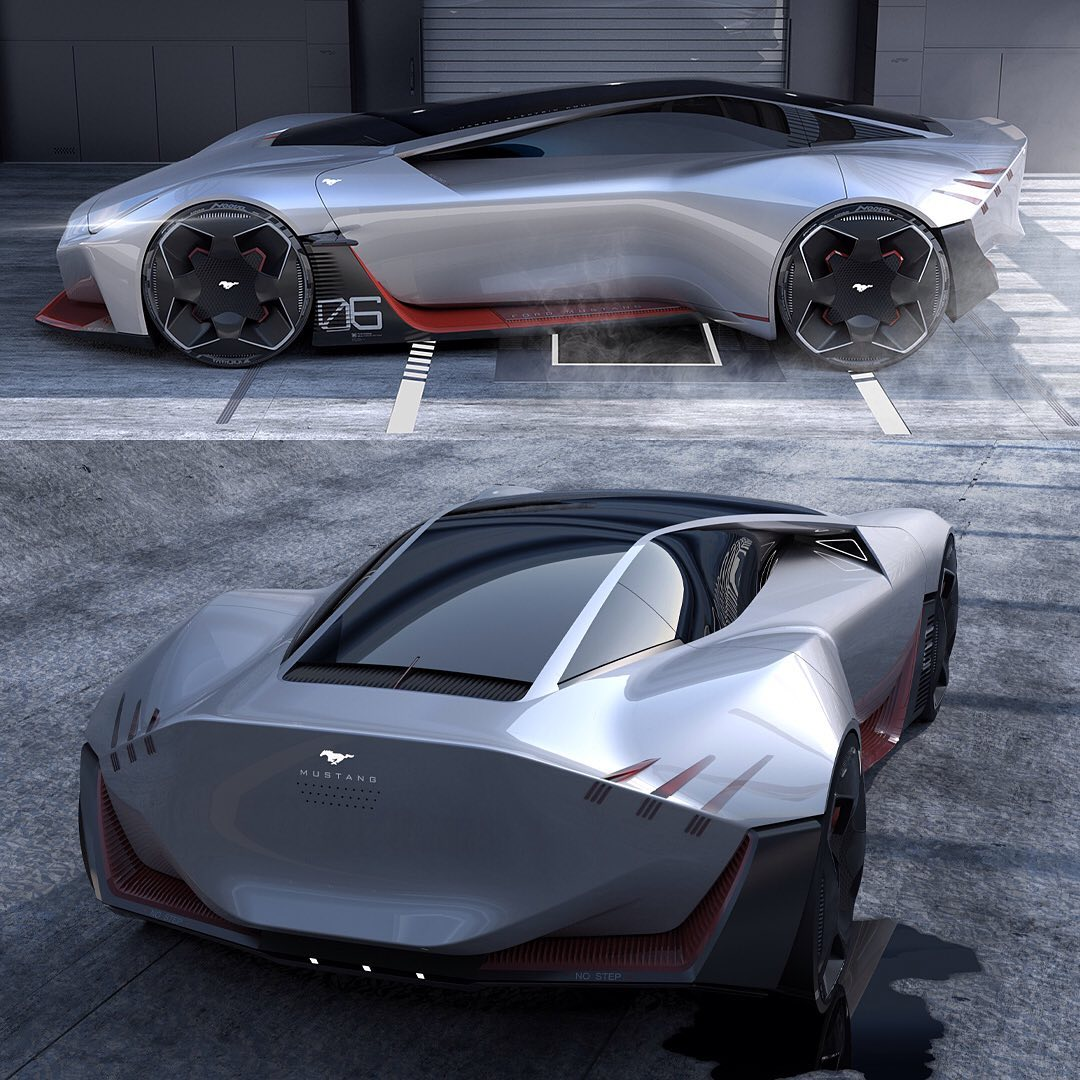 Junk Cars Parts: 2030 Ford Mustang EV Looks Like A Proper Electric Future