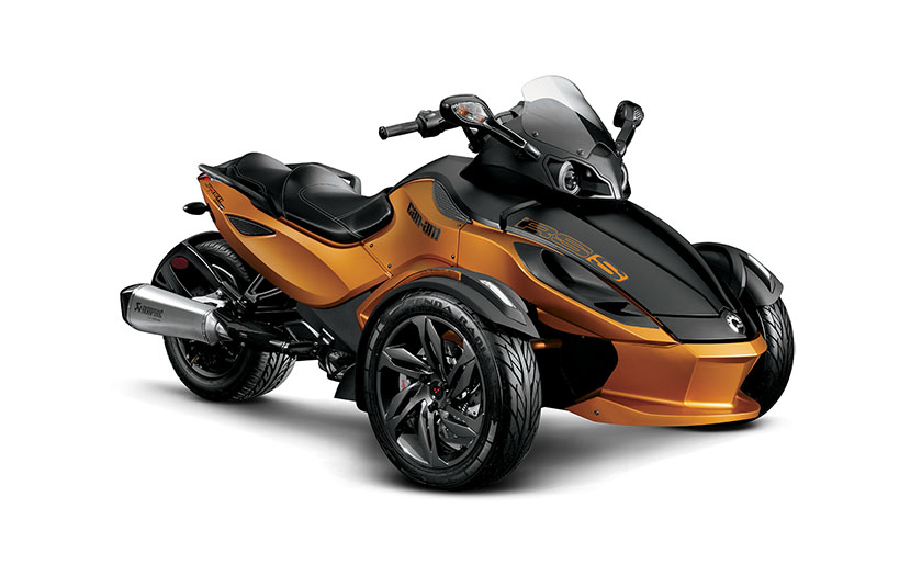 2031 can am spyder rs s is the ultimate 3 wheel racer autoevolution. Black Bedroom Furniture Sets. Home Design Ideas