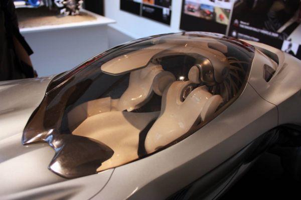 2040 Mercedes Benz Cyborg Sensation Concept - Driving with ...