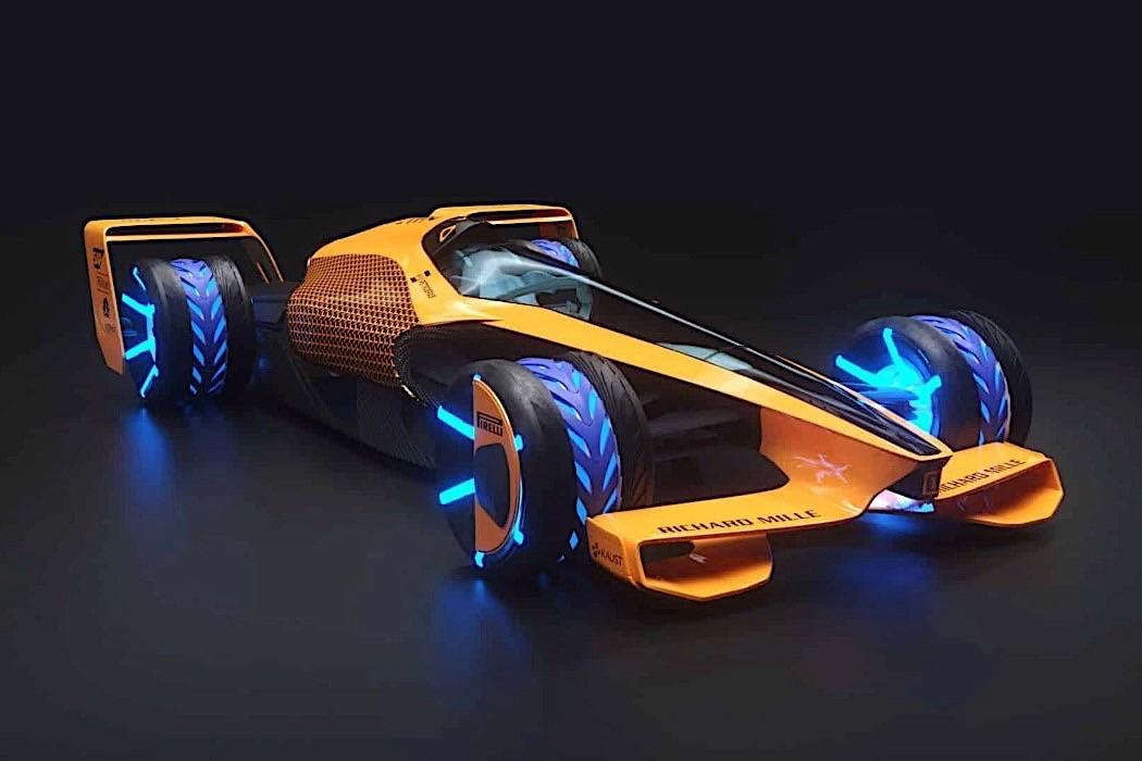 2050 Formula 1 Racing The McLaren MCLExtreme Autoevolution