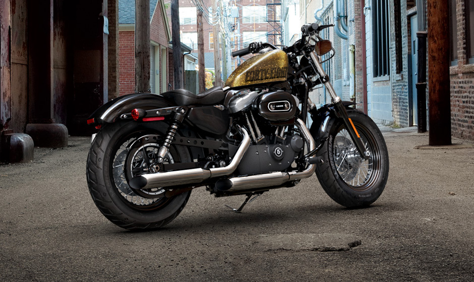 2013 harley davidson forty eight bobber autoevolution. Black Bedroom Furniture Sets. Home Design Ideas