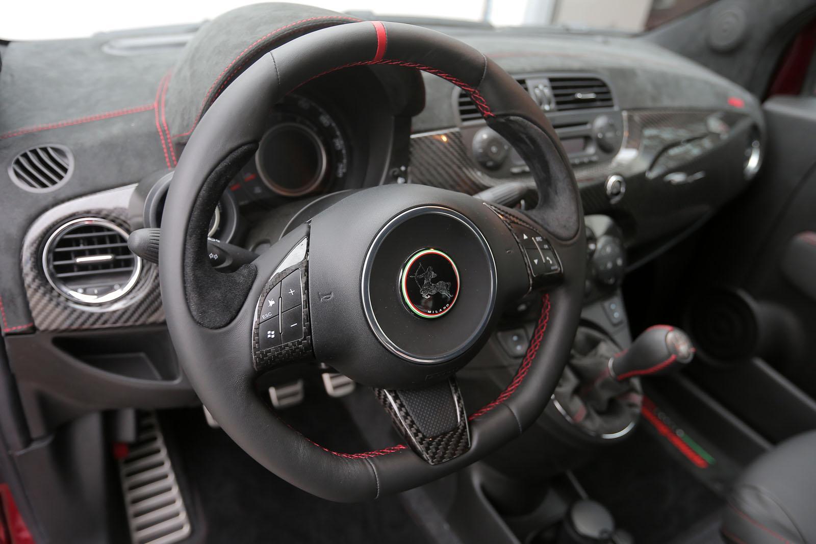 244 hp abarth 500 cinquone corsaromeo ferraris is mighty