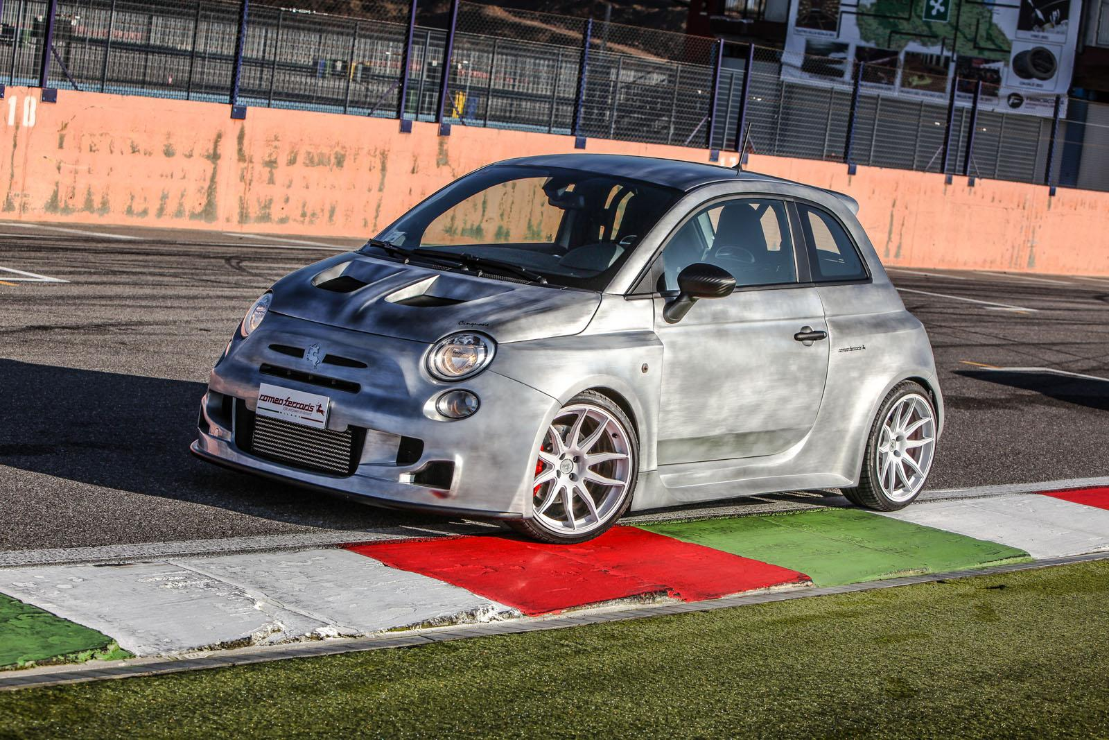 tuningcars 244 hp abarth 500 cinquone corsa by romeo ferraris is mighty impressive. Black Bedroom Furniture Sets. Home Design Ideas