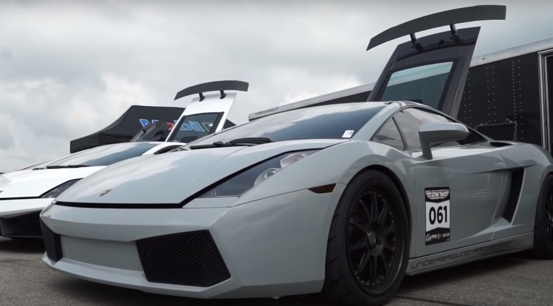 2 500 Hp Lamborghini Gallardo Six Speed Manual Sets 226 Mph 1 2 Mile
