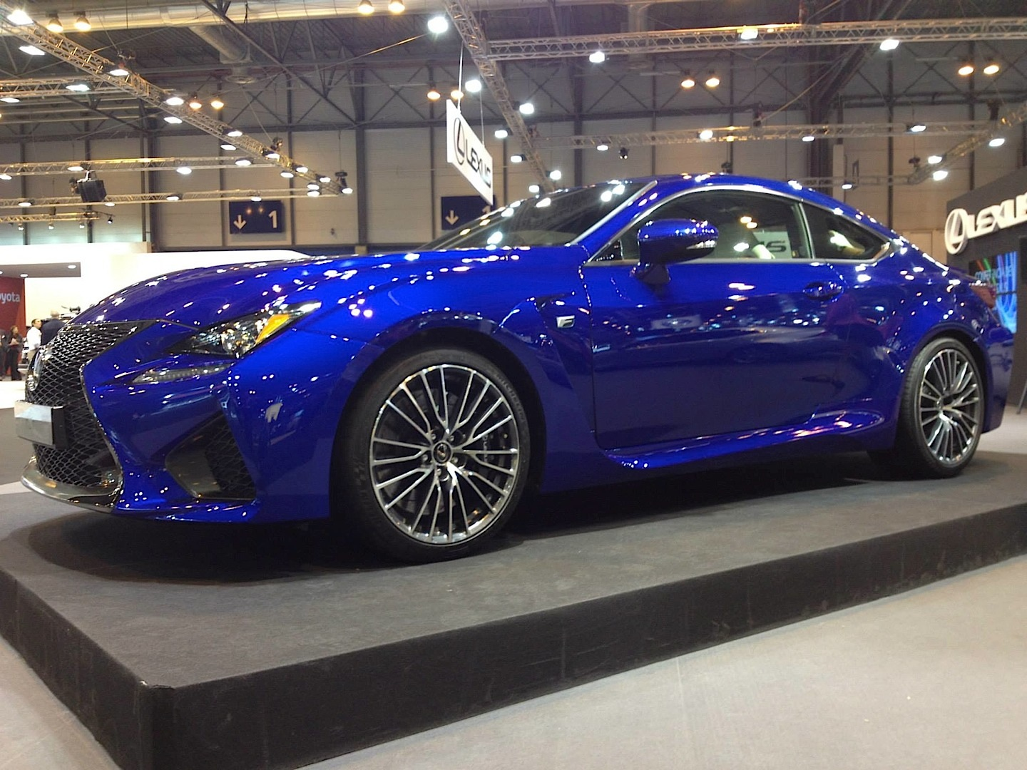 Rc Car Racing >> 25th Anniversary Edition Lexus IS F Sport and New RC F Rims Debut in Madrid - autoevolution