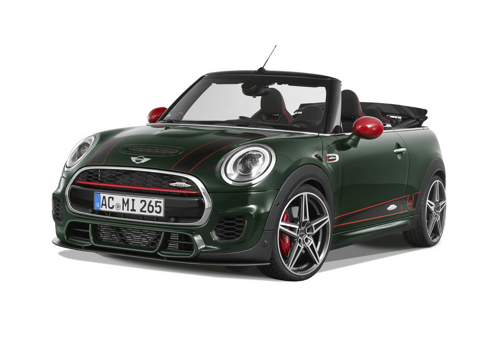 265 hp mini cabrio by ac schnitzer why are all the jcws green autoevolution. Black Bedroom Furniture Sets. Home Design Ideas