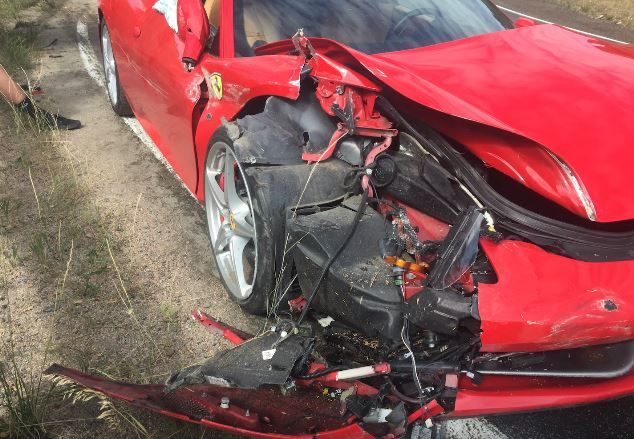 Update 26yo wrx sti owner totals ferrari 458 in colorado does 26yo subaru sti owner totals ferrari 458 freerunsca Choice Image