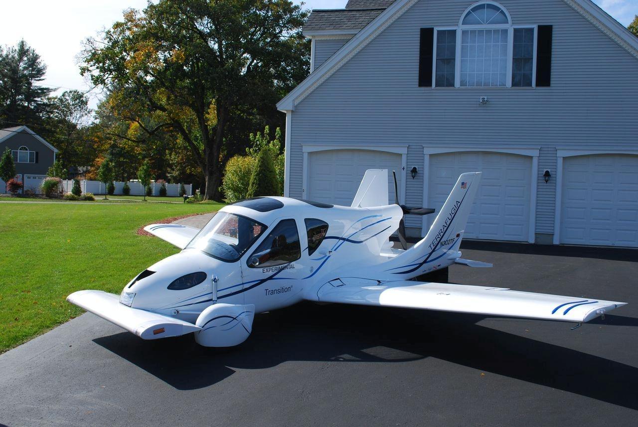 279 000 terrafugia roadable aircraft presented in new york photo gallery autoevolution. Black Bedroom Furniture Sets. Home Design Ideas