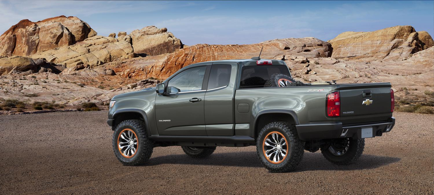 2 8l duramax turbo diesel showcased on the chevrolet colorado zr2 concept live photos. Black Bedroom Furniture Sets. Home Design Ideas