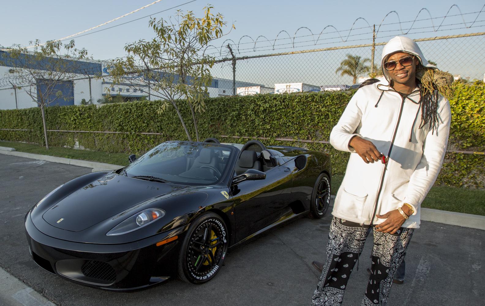 Rapper  Chainz Cars