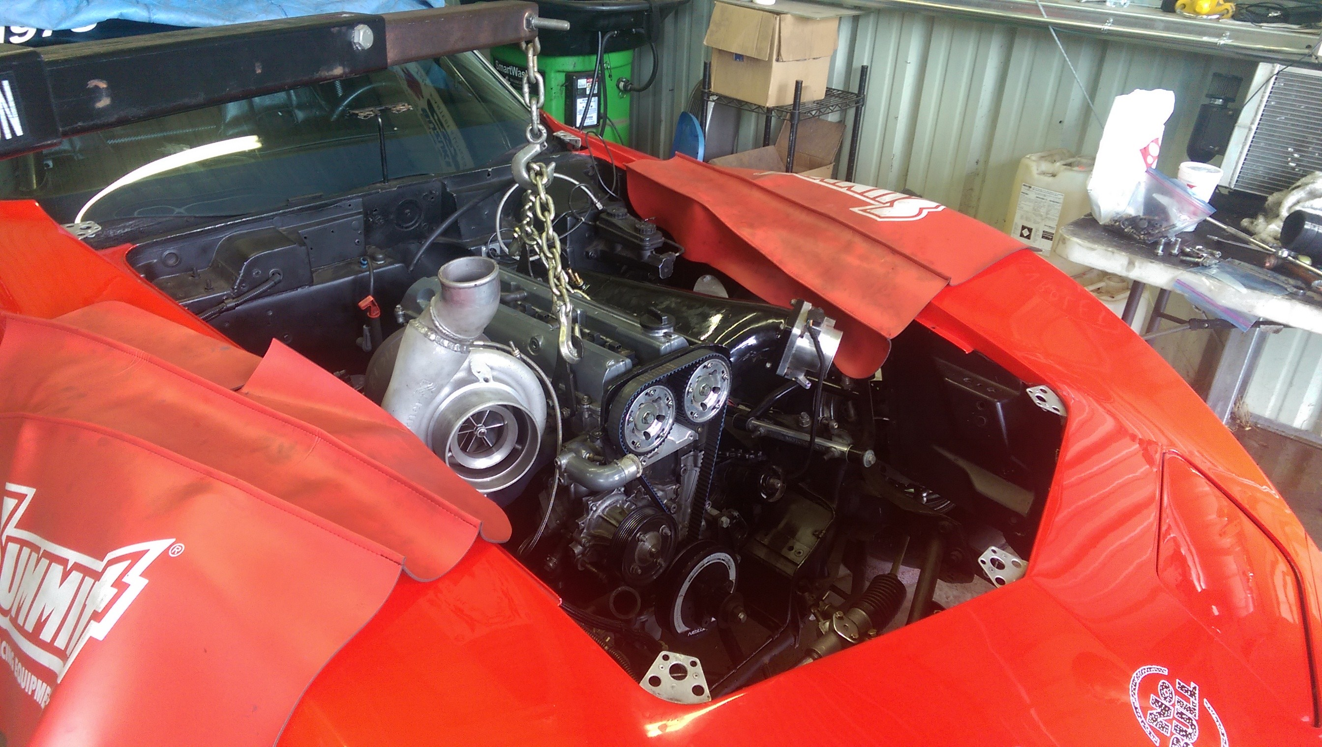 C3 Corvette with 2JZ Engine Trolls Haters with 1,100 WHP and