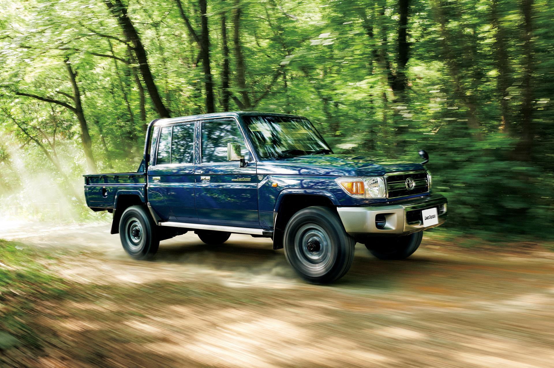 30 Years Of Toyota Land Cruiser 70 - Celebrating With ...
