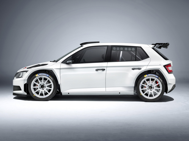 2018 Wrc Cars >> 300 HP Skoda Fabia R 5 Rally Car Unveiled - autoevolution