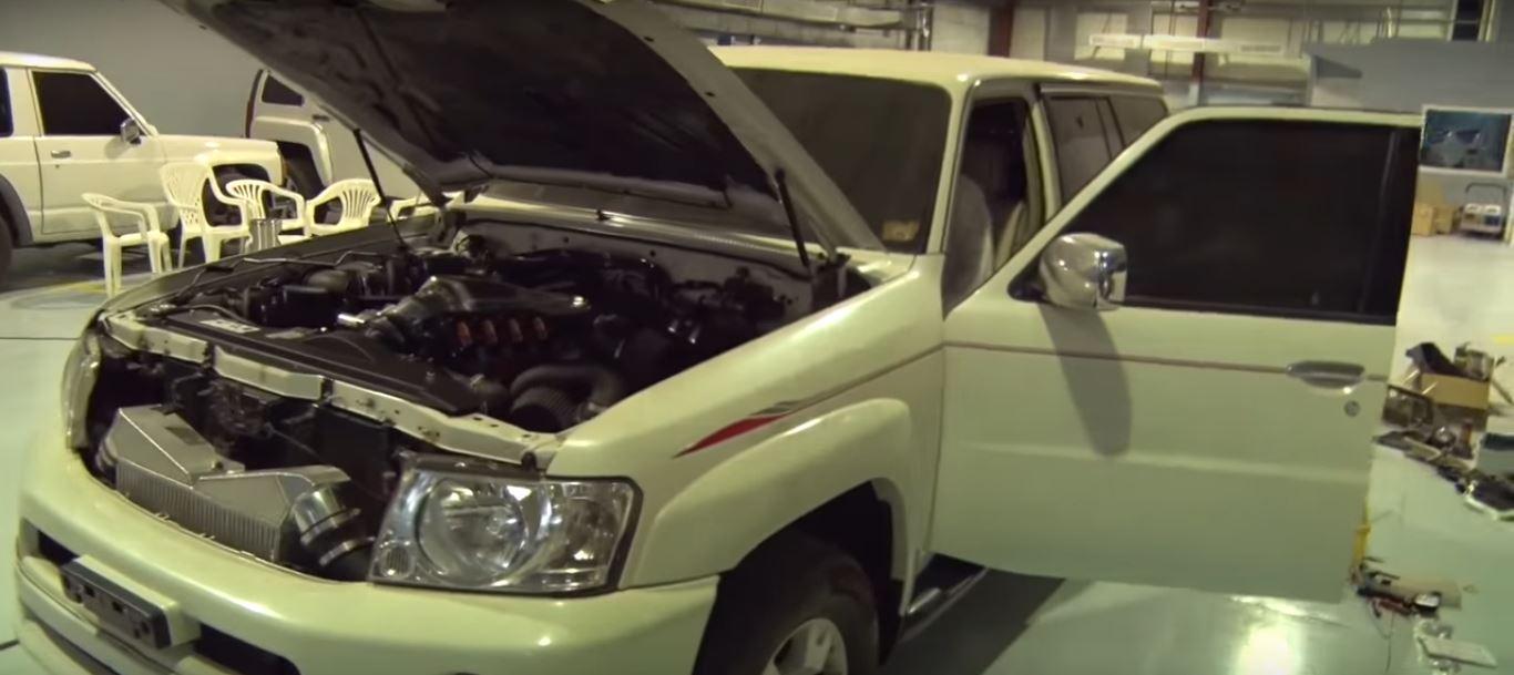 3 000 Hp Quad Turbo Nissan Patrol In Dubai Is The Sleeper Suv From