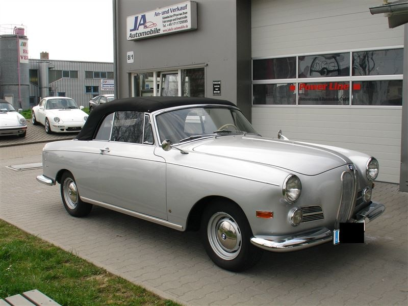 1958 bmw 502 convertible up for sale in germany   autoevolution