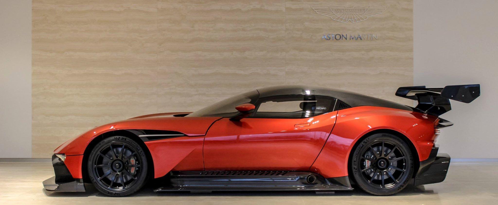 3 4 Million Will Buy You This Aston Martin Vulcan Autoevolution