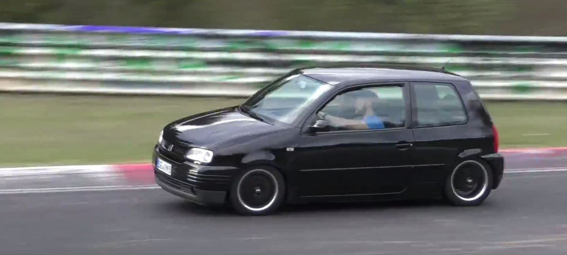 350 hp seat arosa is a nurburgring sleeper out for sportscar blood autoevolution. Black Bedroom Furniture Sets. Home Design Ideas