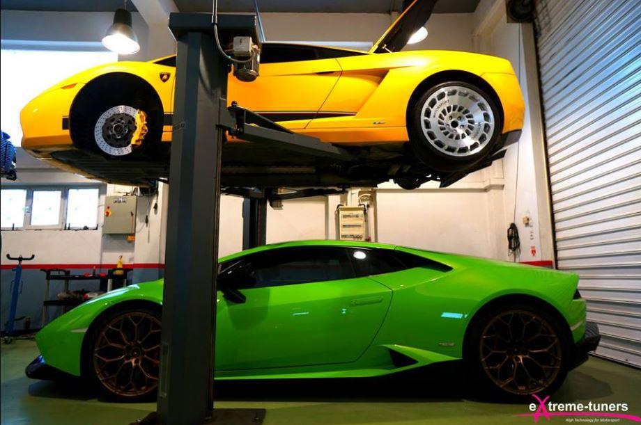 3 500 Hp Twin Turbo Lamborghini Gallardo Revving To 12 000 Rpm Is