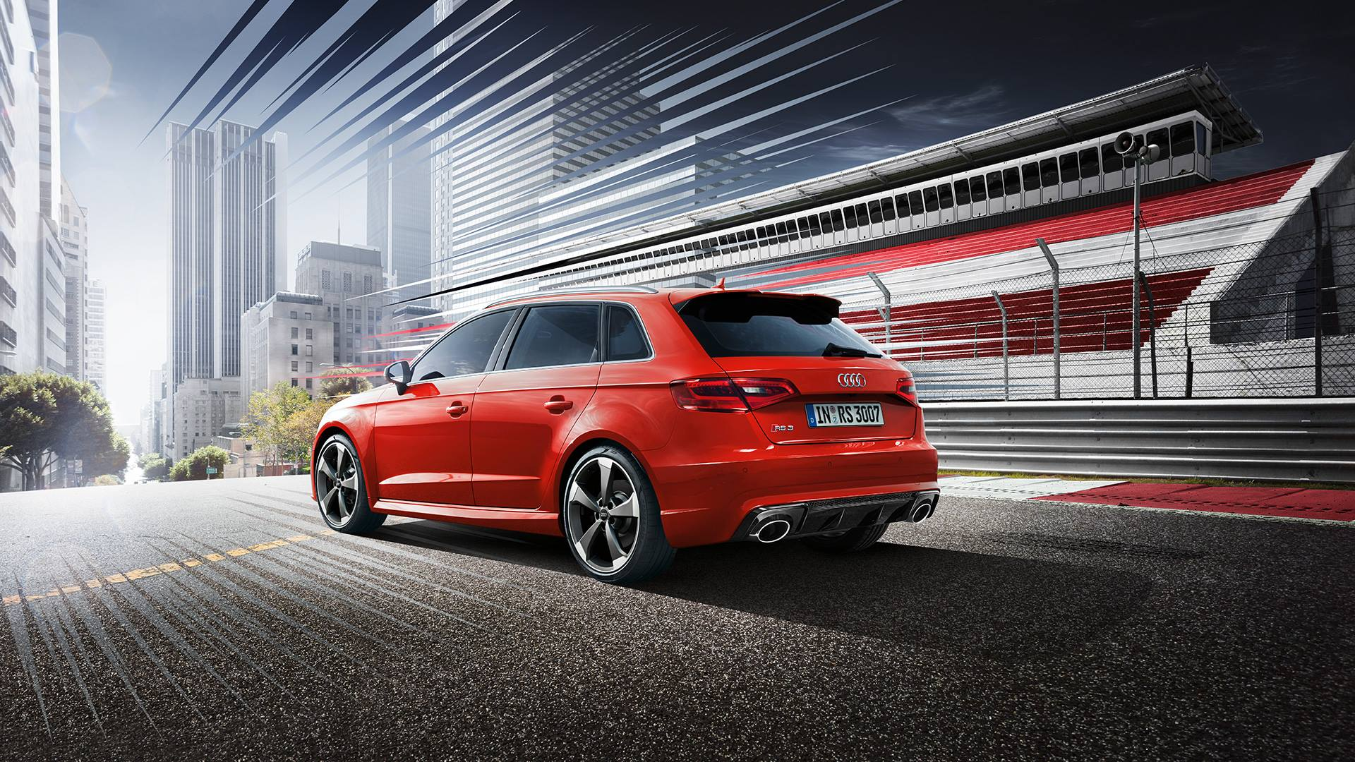 362 Bhp Audi Rs3 Sportback Priced At 163 40 000 In Britain