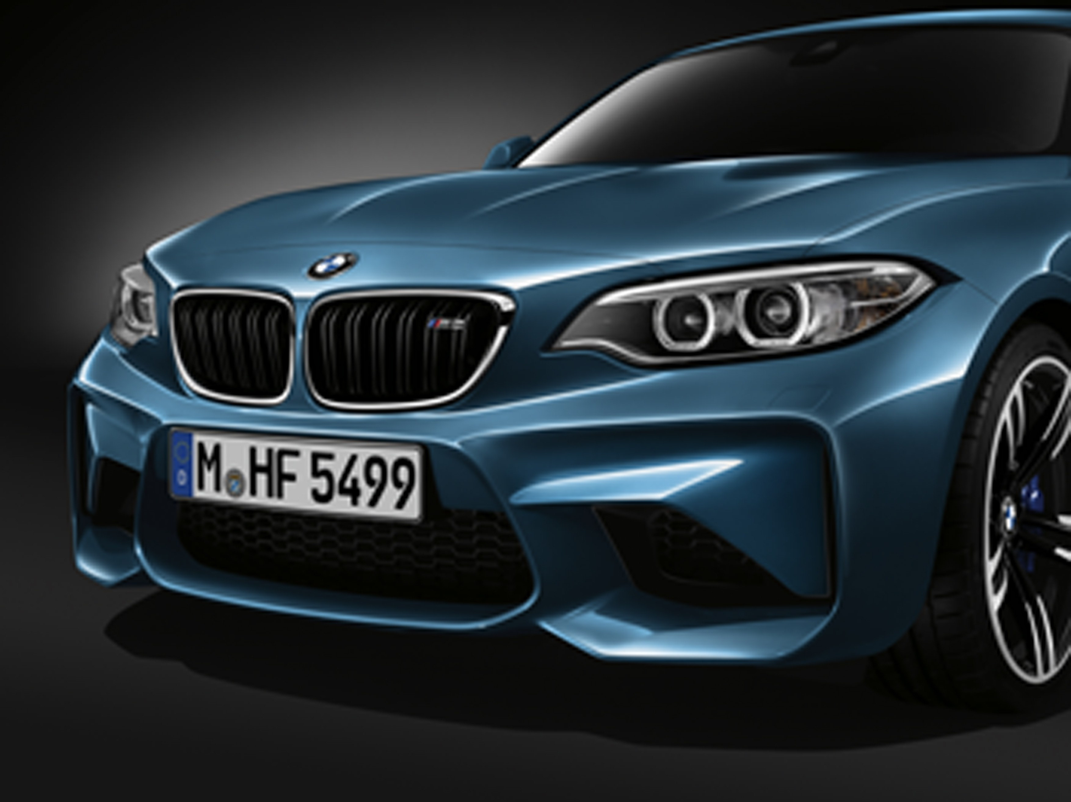 370 HP BMW M2 Revealed, Nibs on the M4's Little Toe