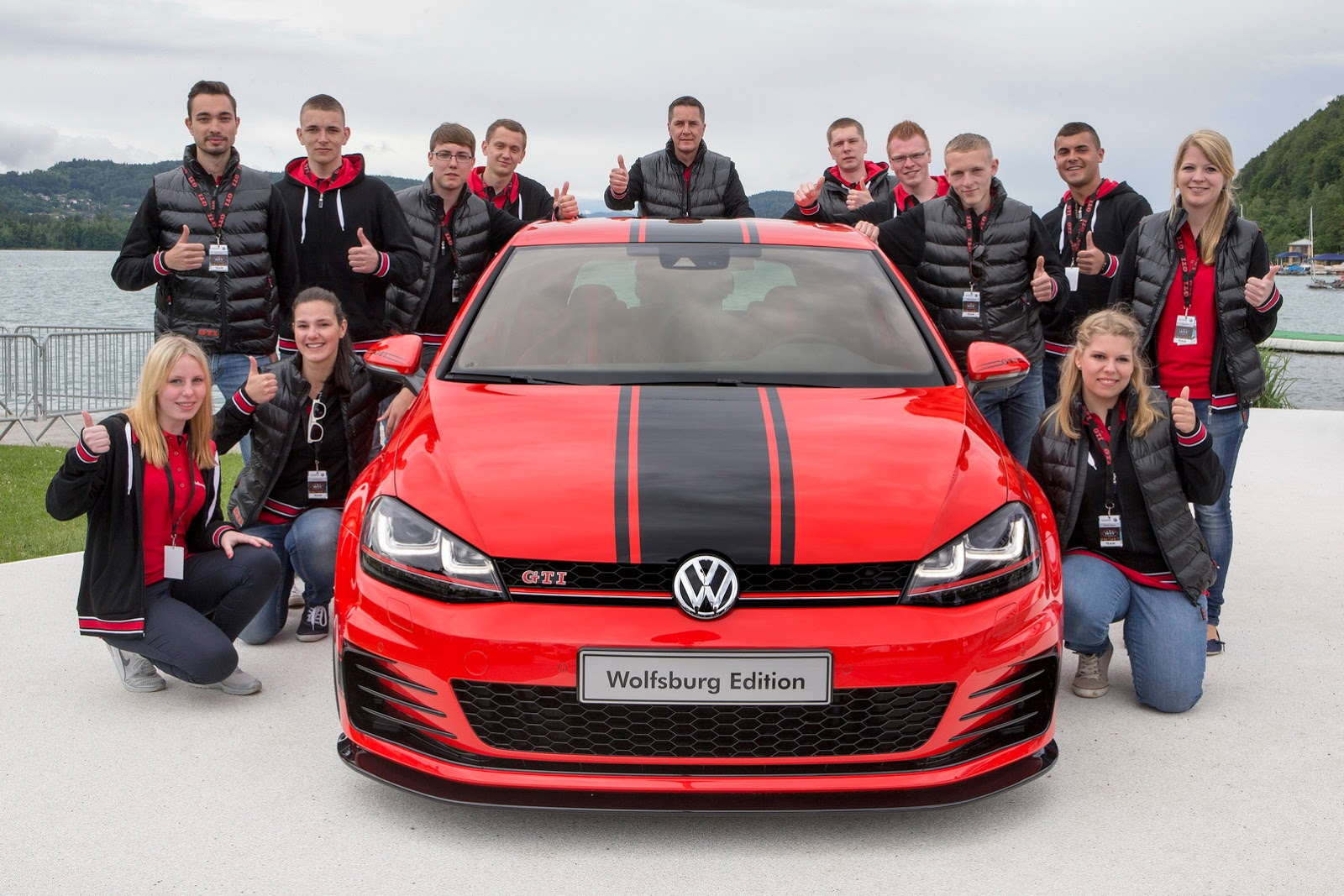 380 HP Golf GTI Wolfsburg Edition Revealed at Worthersee - autoevolution