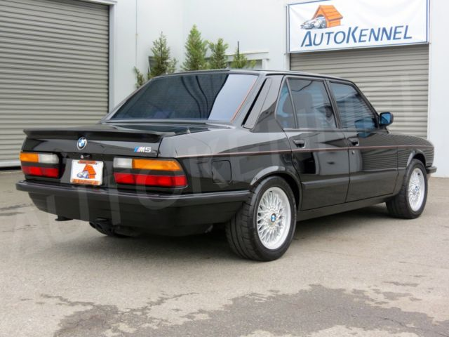 38 000 1988 Bmw M5 Is Looking Great But Is Far Too