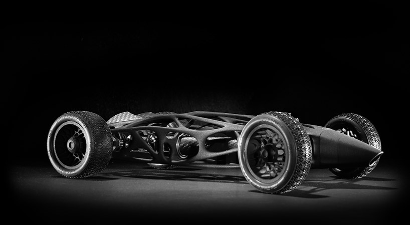 Worlds Fastest Rc Car >> 3D Printed RC Car Is Inspired by a 1950s F1 Racer and It's Rubber Band Powered - autoevolution