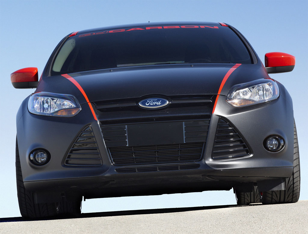3dcarbon Ford Focus Displayed At 2010 L A Auto Show Autoevolution