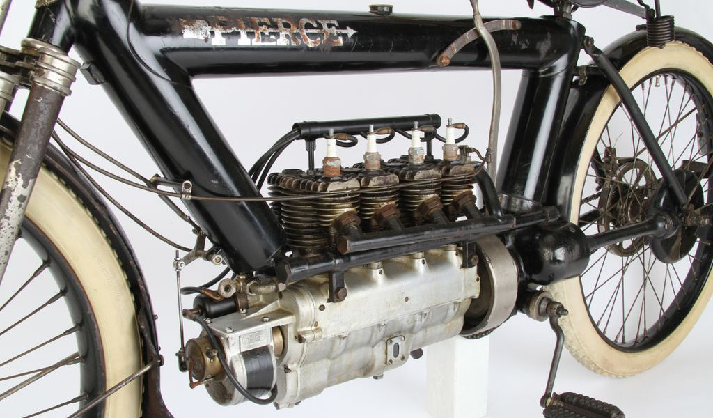 4-cylinder 1911 Pierce Motorcycle - autoevolution