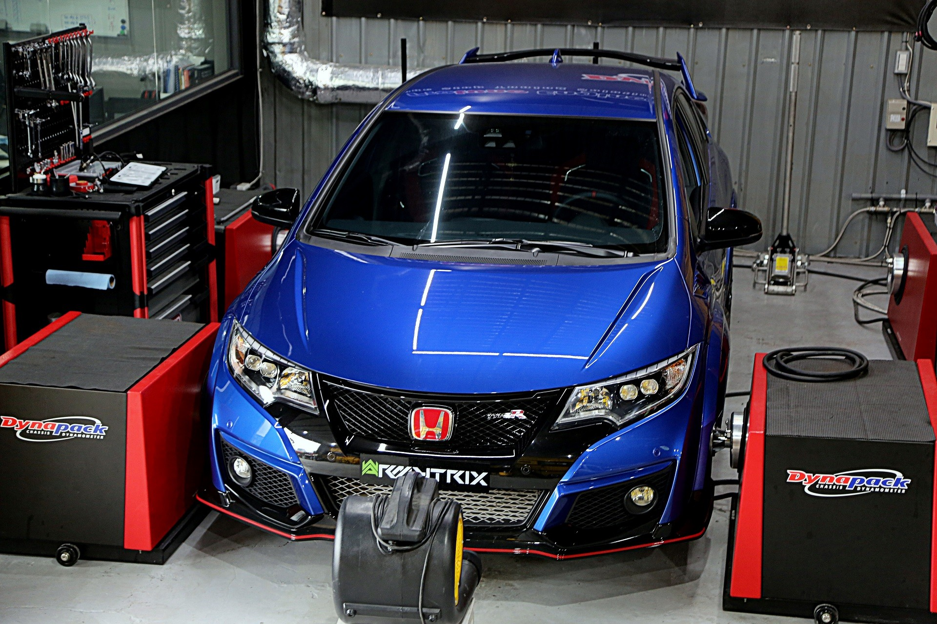400 hp honda civic type r has armytrix exhaust of pure for Honda type r horsepower