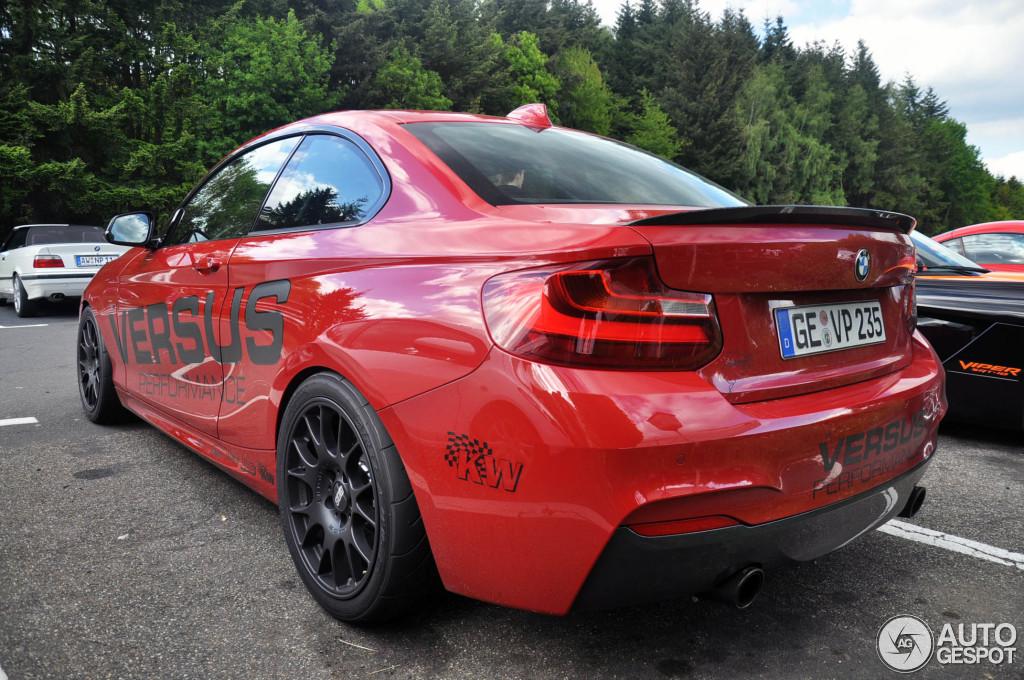 408 Hp Versus Performance Bmw M235i Spotted Autoevolution