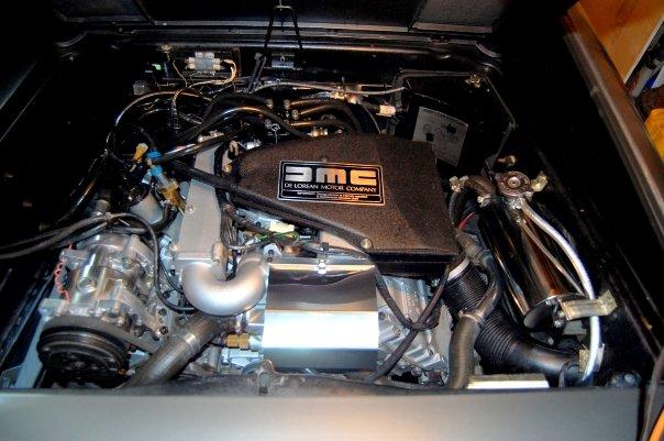 Delorean Dmc12 Hits The Dyno 425 Rwhp From C5 Corvette