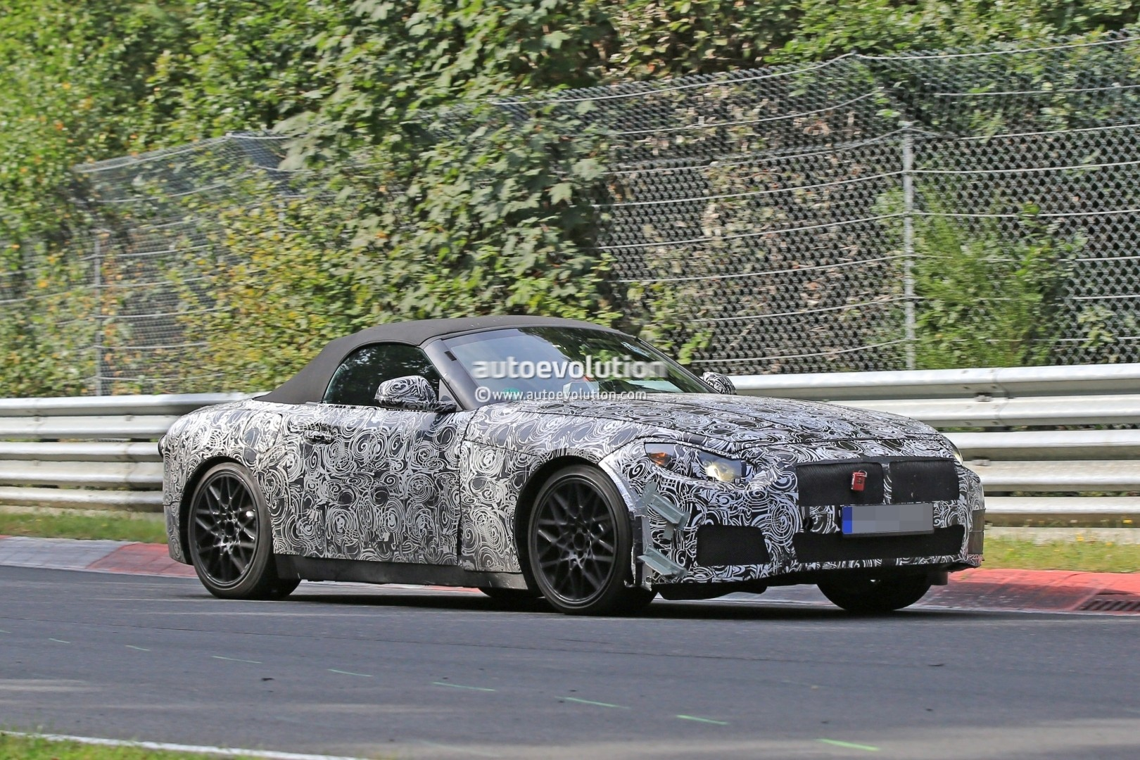 2018 Bmw Z5 Prototype On Nurburgring