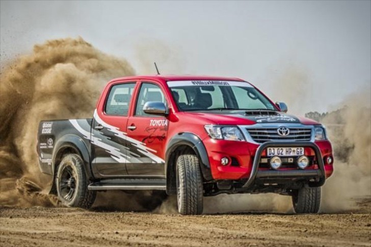 455-Horsepower Toyota Hilux is a Rare Mix of Motorsport ...