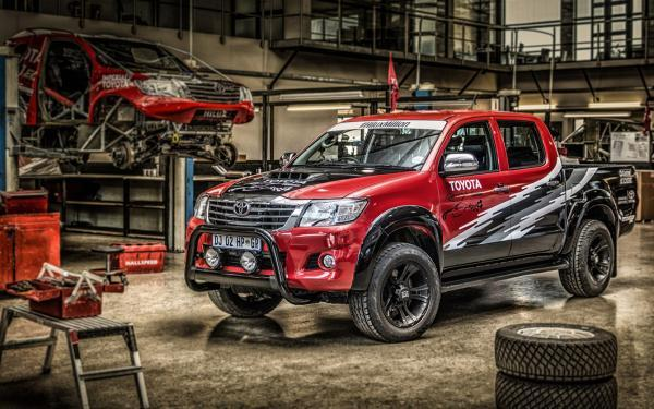 455 Horsepower Toyota Hilux Is A Rare Mix Of Motorsport