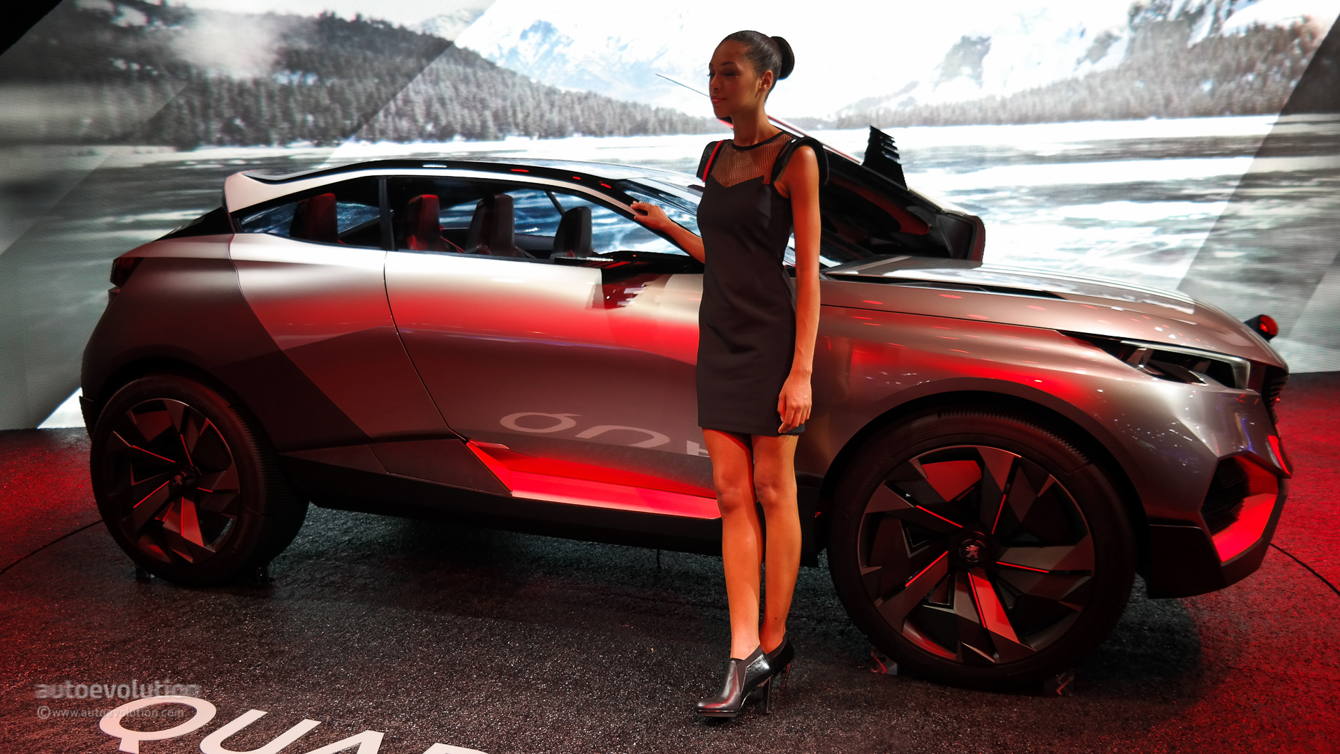 500 Hp Peugeot Quartz Concept Previews Future French Suv