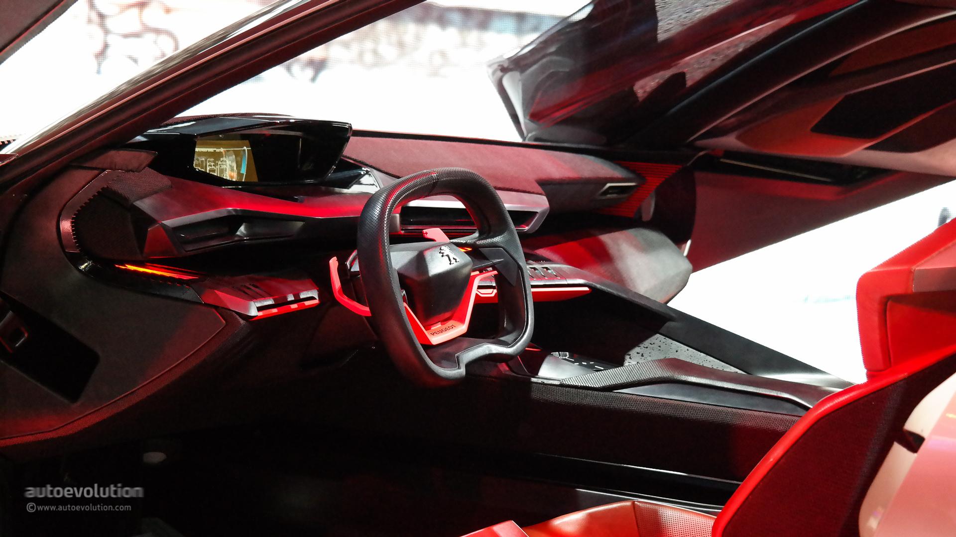 500 Hp Peugeot Quartz Concept Previews Future French Suv At Paris 2014 Live Photos Autoevolution